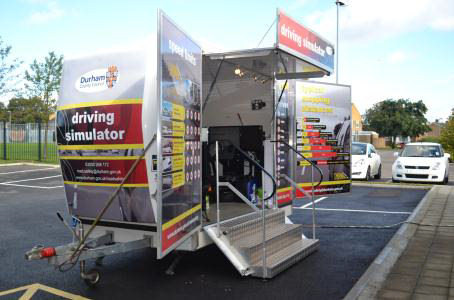 Durham County Council Driving Simulator